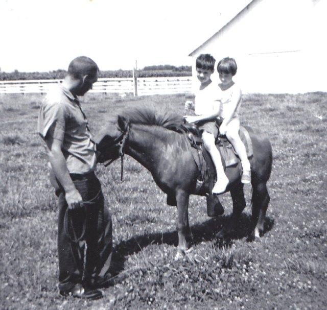 Uncle John, Matt, Amy 1967